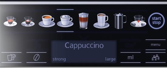 koffieprofielen Siemens eq6 plus S500 - coffeboon