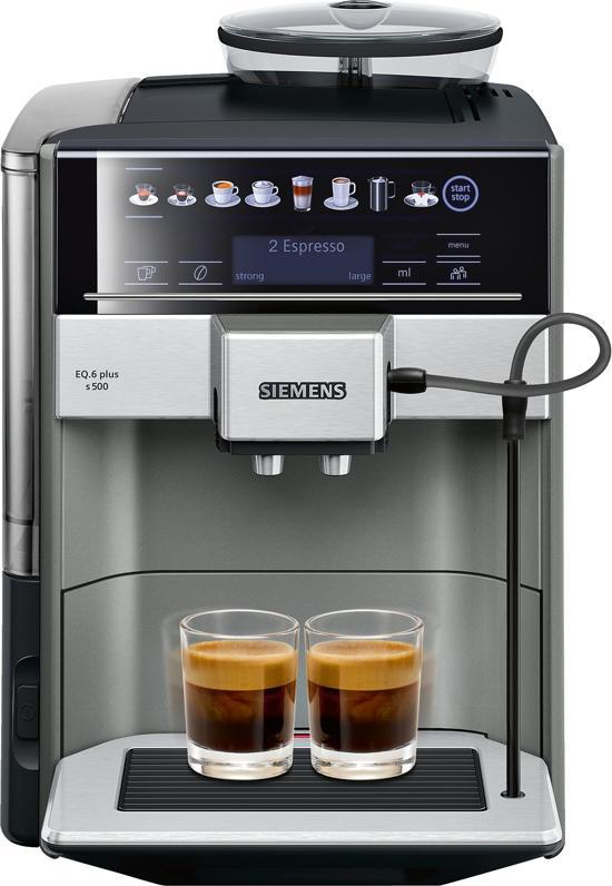 Siemens EQ 6 plus koffieapparaat- coffeeboon