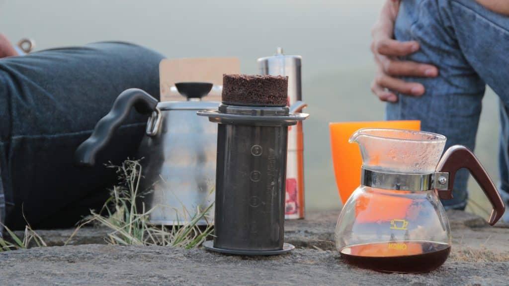 Proces van kopi luwak maken